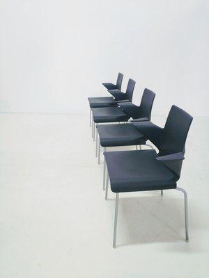 Vintage Tama Esszimmerstühle von Uwe Fischer für B & B Italia, 4er Set
