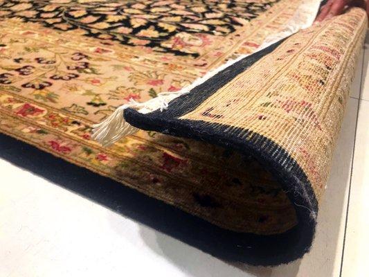 Alfombra de cachemira, años 50 en venta en Pamono