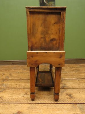 Ordinaire Antique Pine Table With Drawers 11