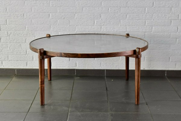 Aluminum Wood E8 Coffee Table By Heinz Lilienthal 1960s