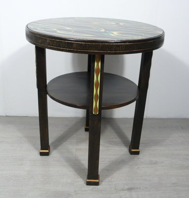 Small Round Coffee Table 1930s