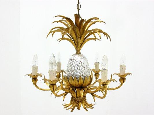 100% authentic 8d2ad de16e Pineapple Chandelier, 1960s