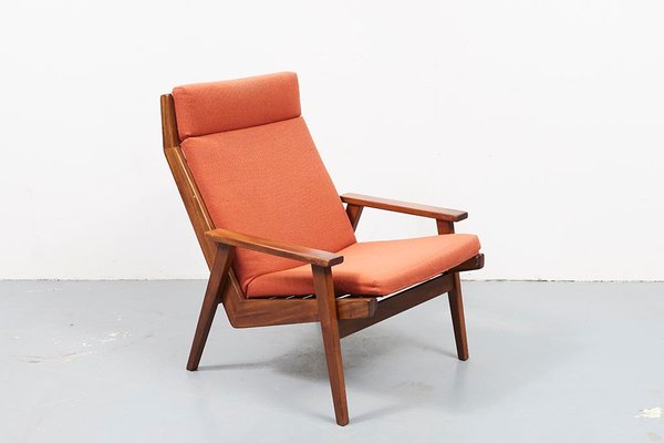 Tremendous Mid Century Teak Lotus Lounge Chair By Rob Parry 1960S Pdpeps Interior Chair Design Pdpepsorg