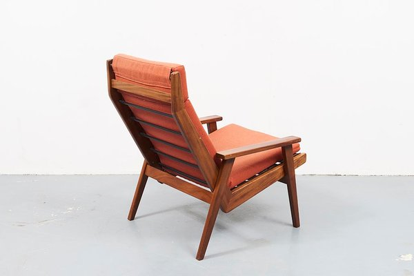 Terrific Mid Century Teak Lotus Lounge Chair By Rob Parry 1960S Pdpeps Interior Chair Design Pdpepsorg