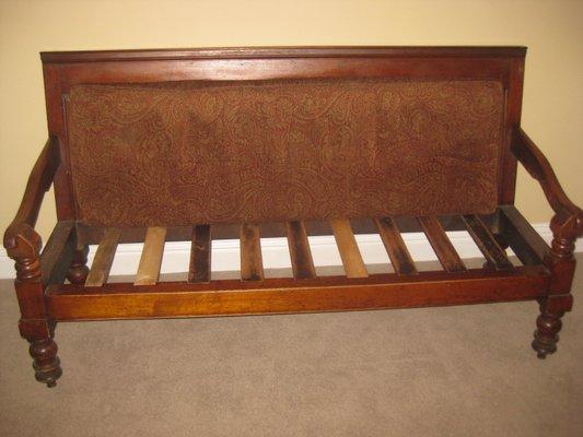 Fantastic Antique English Oak Settee Uwap Interior Chair Design Uwaporg