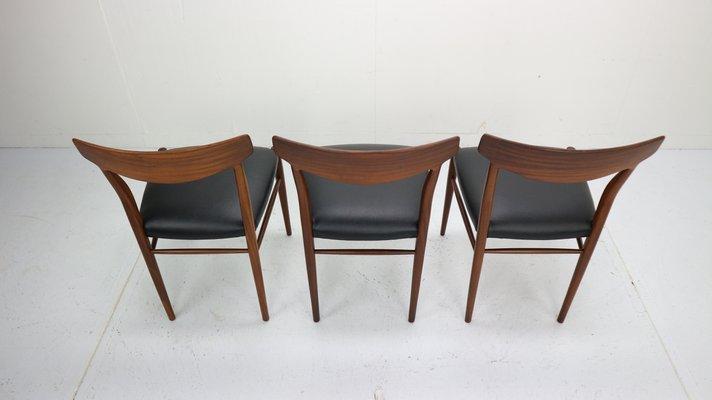 Danish Modern Dining Room Chairs, 1960s, Set of 6