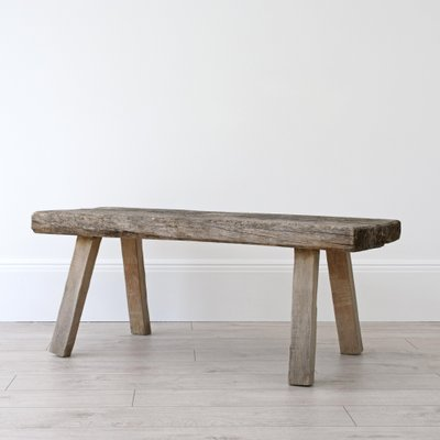 Antique Rustic Pig Bench Coffee Table For Sale At Pamono