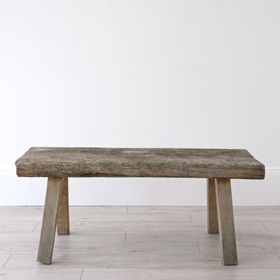Admirable Antique Rustic Pig Bench Coffee Table Gmtry Best Dining Table And Chair Ideas Images Gmtryco