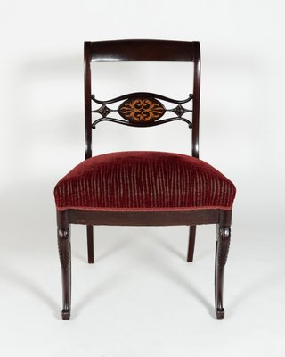 Royal Red Dining Chairs 1880s Set Of 8 For Sale At Pamono