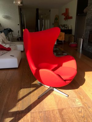 Phenomenal Vintage Egg Chair By Arne Jacobsen For Fritz Hansen Home Interior And Landscaping Synyenasavecom