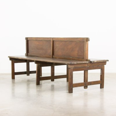 Phenomenal Double Sided Station Bench 1930S Machost Co Dining Chair Design Ideas Machostcouk