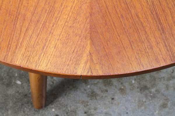 Teak Coffee Table By Holger Georg Jensen For Kubus Mobler 1960s