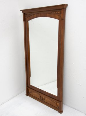 Early 20th Century Art Nouveau Wall Mirror