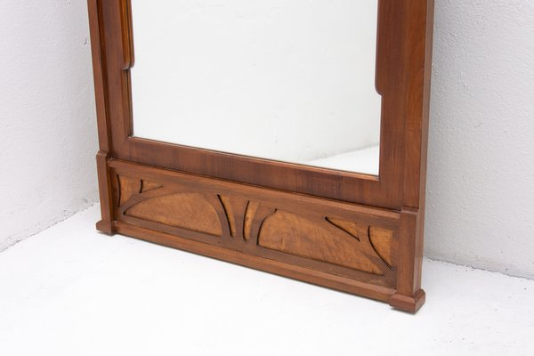 Groovy Early 20Th Century Art Nouveau Wall Mirror Download Free Architecture Designs Terchretrmadebymaigaardcom