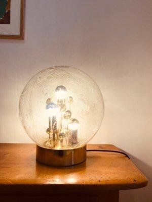 cristal Murano 70 dorado Leuchtenaños de de alemana de Doria y Lámpara mesa de estaño oWrdQCxBe