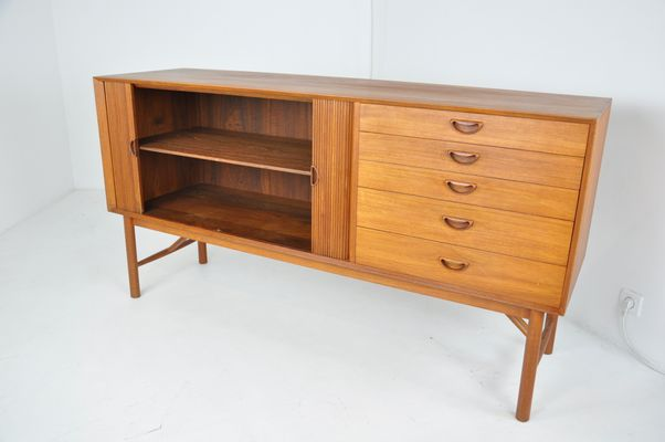 new style 2e37e 86e2f Scandinavian Sideboard by Peter Hvidt & Orla Mølgaard-Nielsen for Søborg  Møbelfabrik, 1950s