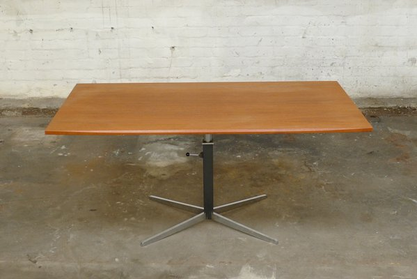 German Teak Adjustable Coffee Table By J M Thomas For Wilhelm