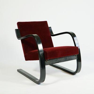 Sedia cantilever nr. 34 di Alvar Aalto per Artek, anni '30