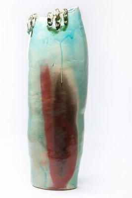 Vintage Ceramic Vase by Claudio Gallo, 1980s