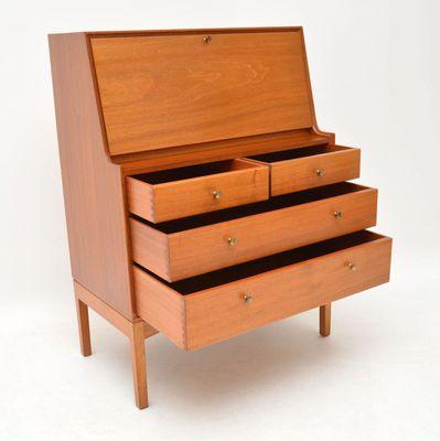 Astounding Teak Secretaire By John Morton For Lm Furniture 1960S Lamtechconsult Wood Chair Design Ideas Lamtechconsultcom