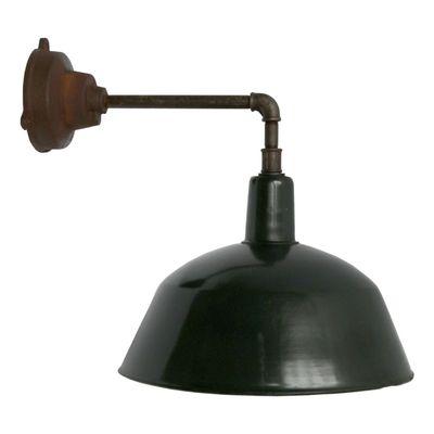 Applique Émail Fonte1950s D'usine Industrielle En Vintage Et Murale Noir LSzMqVpUjG