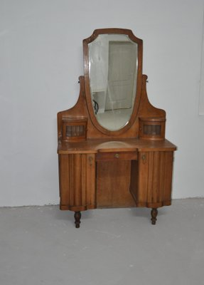 Mid Century Wooden Dressing Table, 1940s