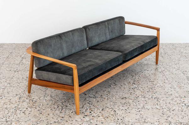 Swell Carmel Sofa By Folke Ohlsson For Dux 1960S Theyellowbook Wood Chair Design Ideas Theyellowbookinfo