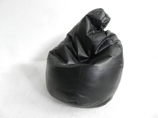 Amazing Italian Leather Sacco Bean Bag By Gatti Paolini Teodorini For Zanotta 1968 Camellatalisay Diy Chair Ideas Camellatalisaycom