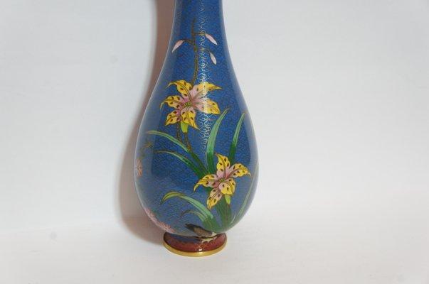 risalente vaso cloisonne