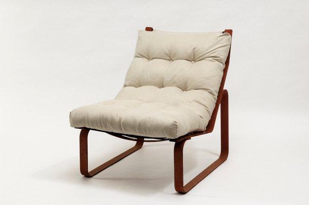 Genial Industrial Rope Lounge Chair, 1970s