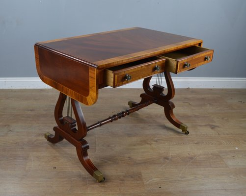 Antique Mahogany Side Table From Redman