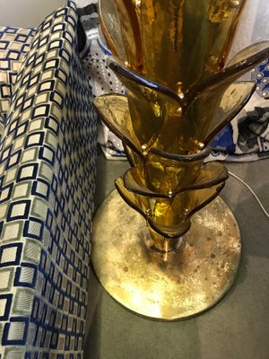 Murano Glass Palm Tree Floor Lamp 1960s