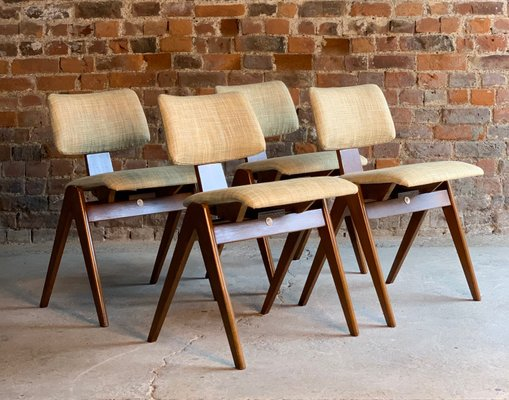 Groovy Beech And Plywood Dining Table Chairs Set By Robin Day For Hille 1950S Frankydiablos Diy Chair Ideas Frankydiabloscom