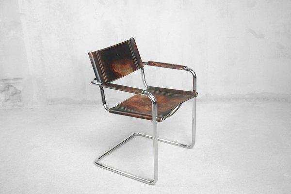 Matteo Grassi Mobili.Sedie Mg5 Bauhaus Di Matteo Grassi Anni 60 Set Di 4