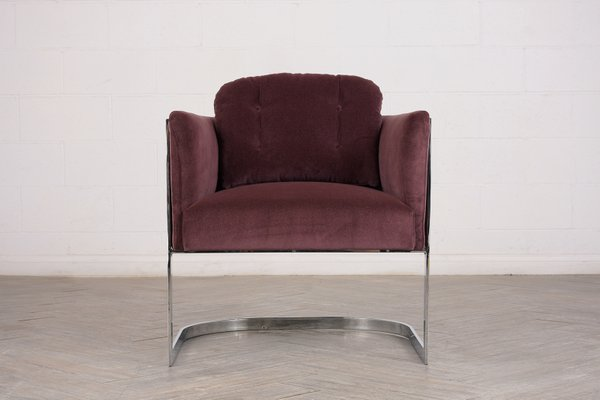 Remarkable Chrome Lounge Chair By Milo Baughman 1960S Forskolin Free Trial Chair Design Images Forskolin Free Trialorg