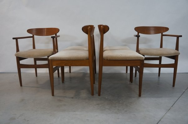 Remarkable Teak Dining Chairs By Ib Kofod Larsen For G Plan 1960S Set Of 6 Dailytribune Chair Design For Home Dailytribuneorg