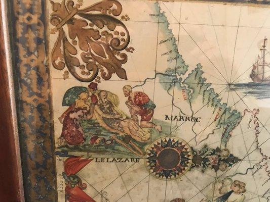 Meerenge Von Gibraltar Karte.Antike Strasse Von Gibraltar Karte