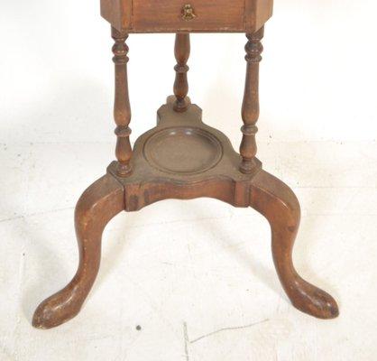 Meuble de Toilette George III Antique avec Pichet et Bol