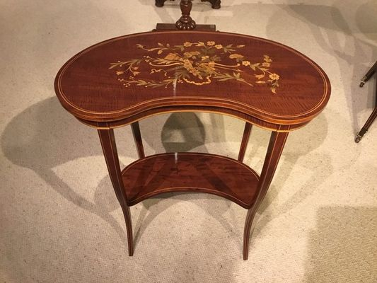 Antique Mahogany Side Table 1900s For