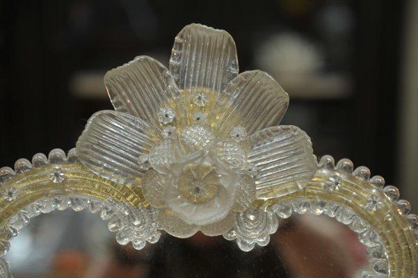 Venetian Murano Glass Mirror 1930s For Sale At Pamono