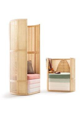 Strange Lisetta Composition Lounge Chairs By Elena Salmistraro For Bottega Intreccio Set Of 2 Machost Co Dining Chair Design Ideas Machostcouk