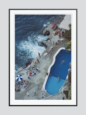 Pool On Amalfi Coast Print By Slim Aarons