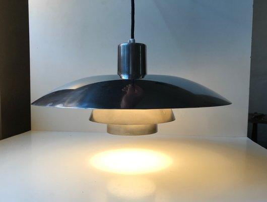 Danish Steel Ph 4 3 Ceiling Lamp By Poul Henningsen For Louis Poulsen 1960s