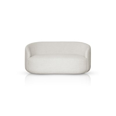 Magnificent Curved White Fabric Cottonflower Sofa By Daniel Nikolovski E Danu Chirinciuc For Kabinet Caraccident5 Cool Chair Designs And Ideas Caraccident5Info