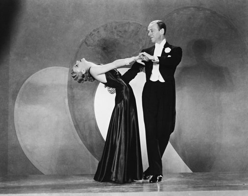 Ginger Rogers Fred Astaire Print From Galerie Prints For Sale At Pamono