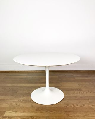 Super Aluminum Enamel And Wood Coffee Table By Eero Saarinen For Wohnbedarf 1960S Pabps2019 Chair Design Images Pabps2019Com