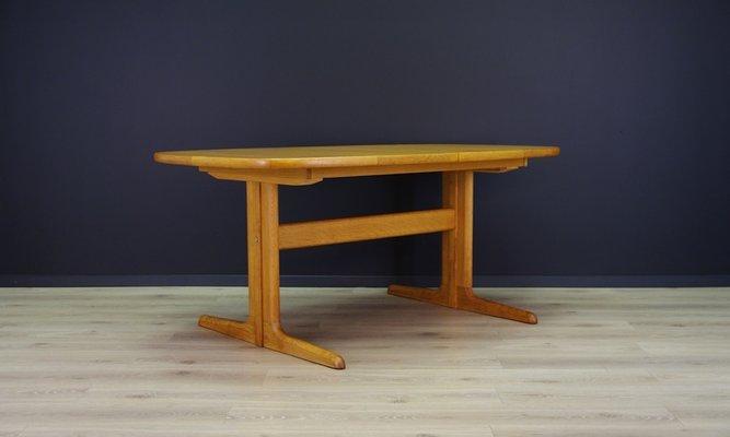 Stupendous Mid Century Danish Ash Dining Table From Skovby 1960S Download Free Architecture Designs Rallybritishbridgeorg