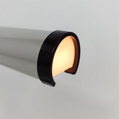 Lampada da tavolo industriale in alluminio e bachelite di