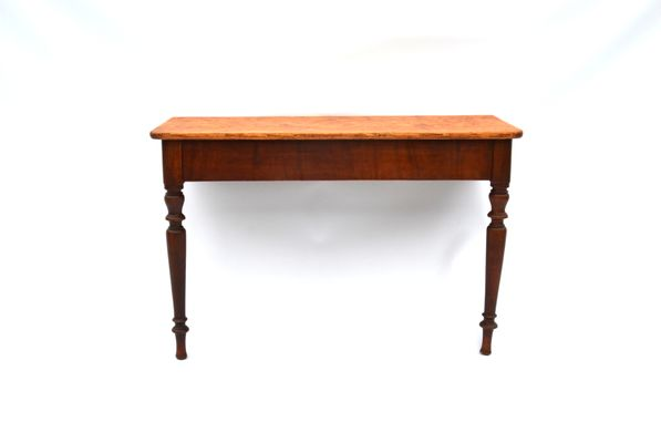 Antique Rustic Pine Console Table