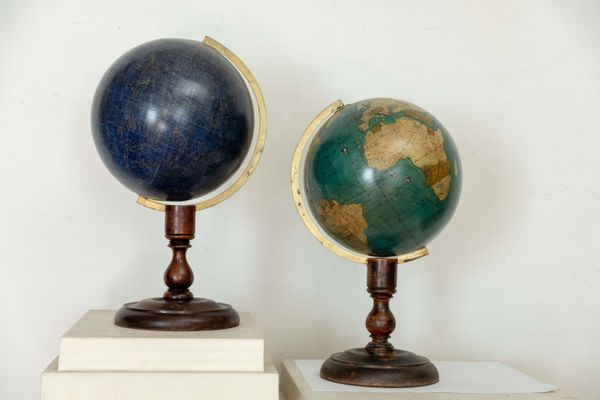 Globes For Sale >> 19th Century Globes Set Of 2 For Sale At Pamono